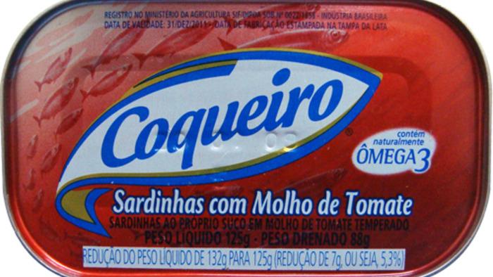 Regular sardinha coqueiro
